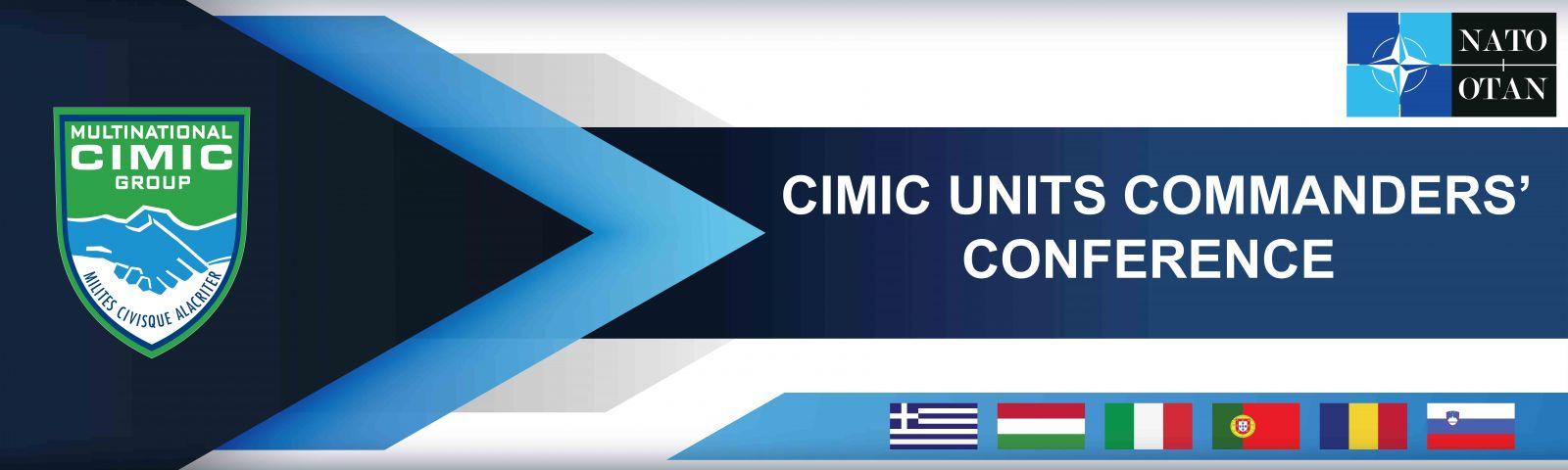 Cimic units commanders conference