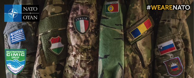 Nations uniform banner we are nato
