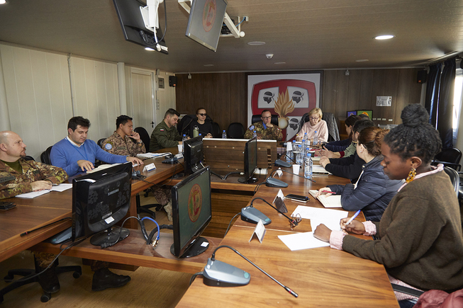 2. meeting between cimic operators and international agencies