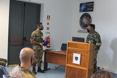 2  l'ammiraglio nobre de sousa ringrazia gli operatori del mncg