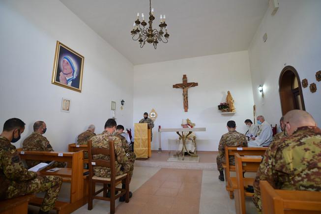 3 momento della solenne cerimonia religiosa