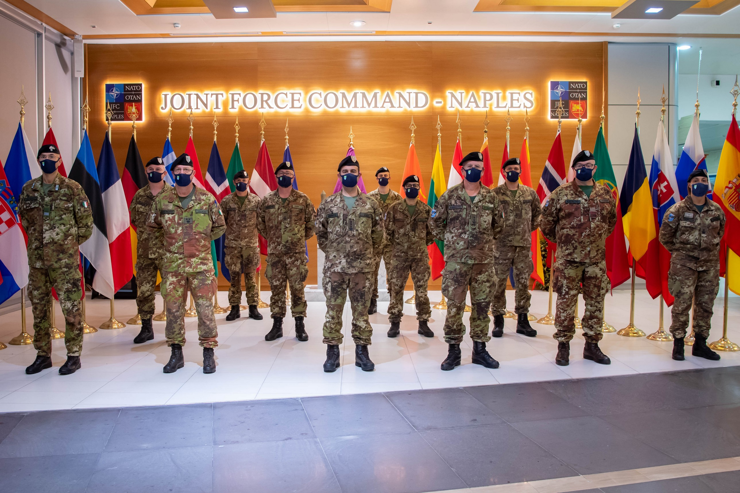 2. foto degli operatori del mncg presso il jfcnp