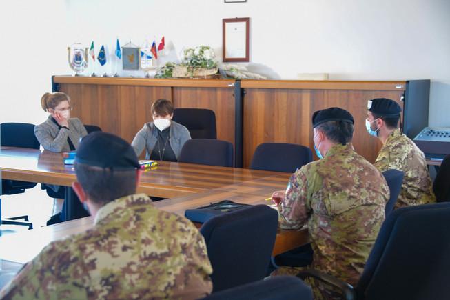 5. meeting presso il comune di resia