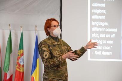 2. gender advisor dell'accademia dell'esercito sloveno