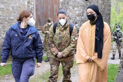 8. attivita' di collegamento civile militare