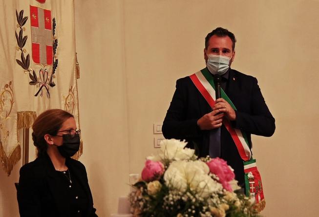 5. il sindaco di motta di livenza introduce l'evento