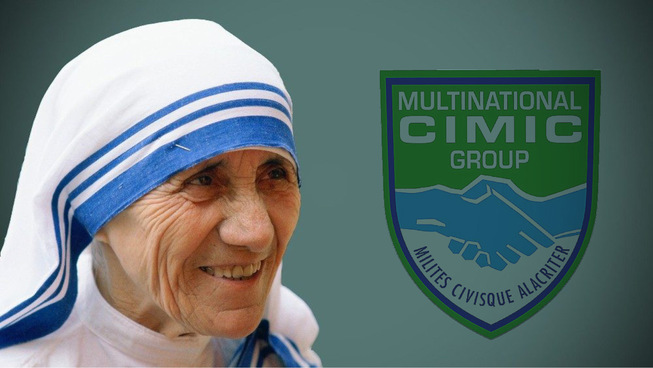 2. santa teresa di calcutta diventa patrona del multinational cimic group